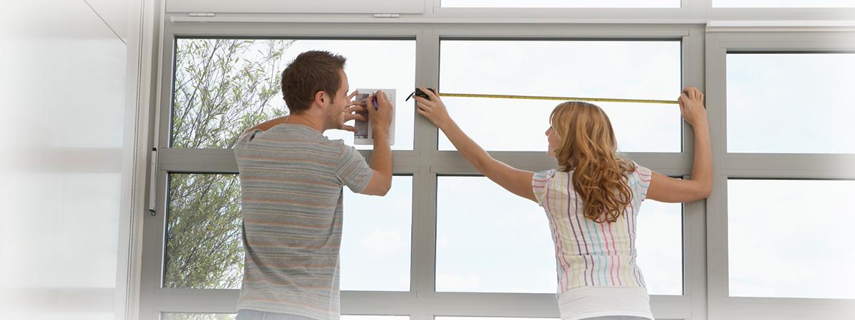 Замерить окна